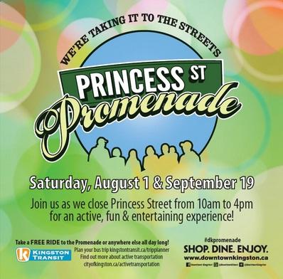 Princess St Promenade poster