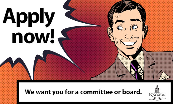 City of Kingston Committee Recruitment - apply now!