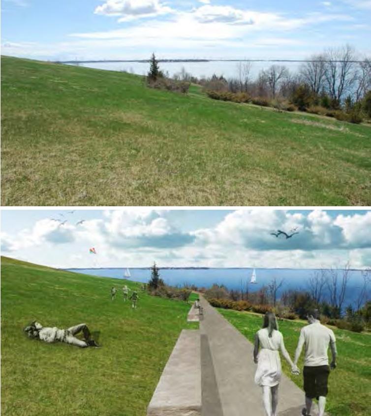 Deamans Bay rendering - Waterfront Master Plan