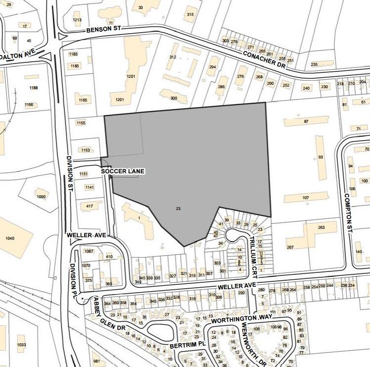Walmart rideau heights location map