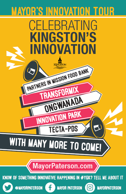 Mayor's Innovation Tour Poster